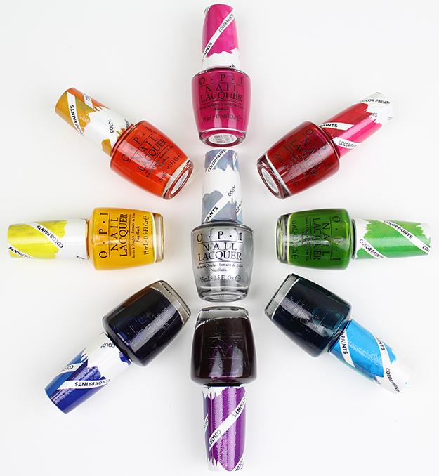 出典:OPI Color Paints Swatches & Bottle Shots | Swatch And Learn