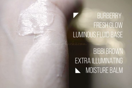 burberry フレッシュグロウ ルミナスフルイッドベース