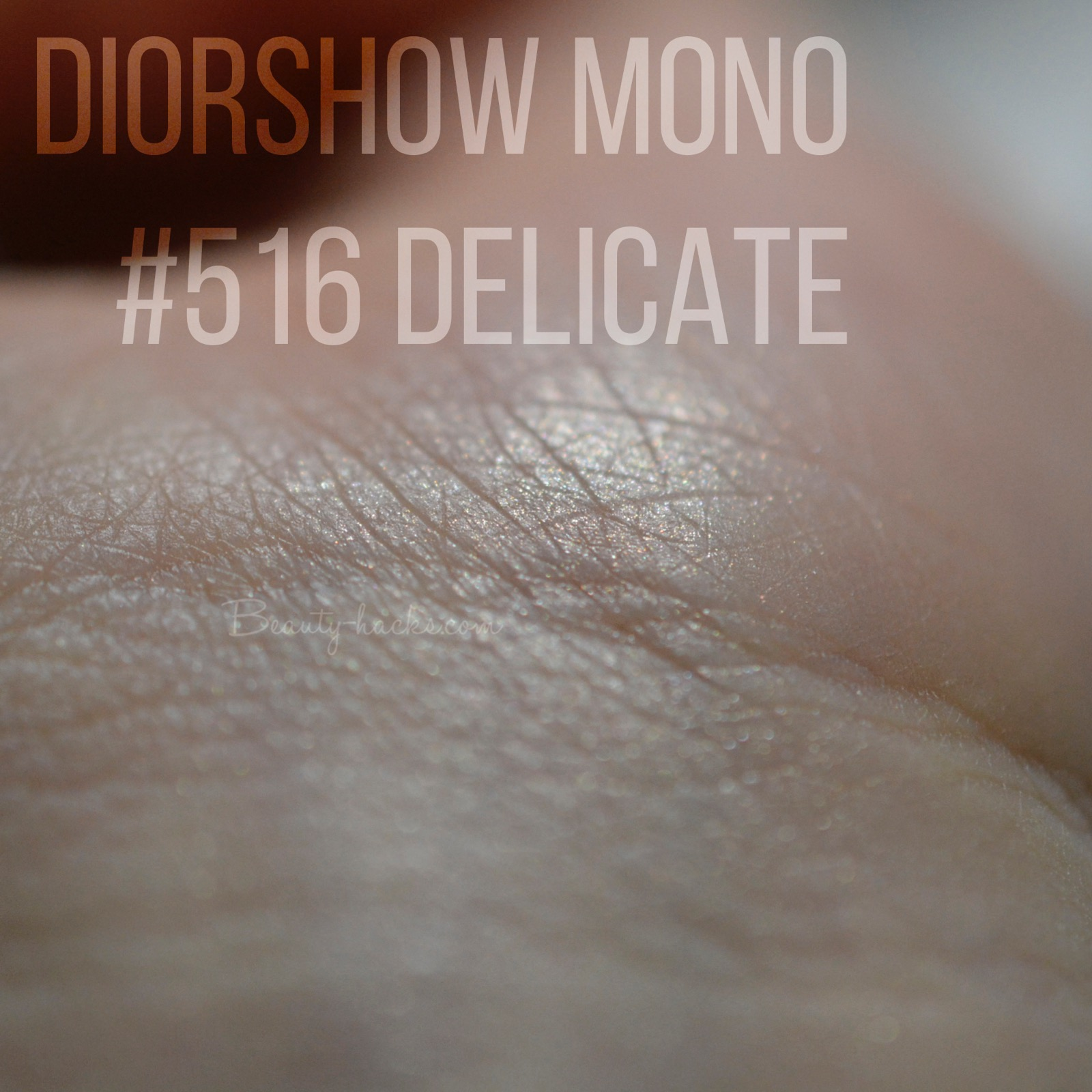 DIORSHOW MONO 516 DELICATE