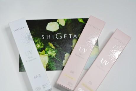 SHIGETA×早坂香須子さんコラボ UVベースシリーズ
