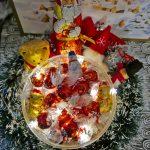リンツのチョコレートでクリスマスデコレーション